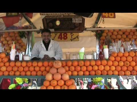 The Best Orange Juice in the World - Marrakech, Morocco