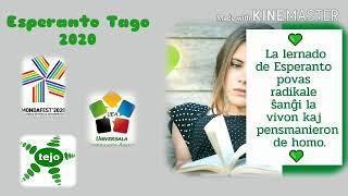 Esperanto Tago 2020 | #Mondafest2020 #IJK2020 #Esperanto