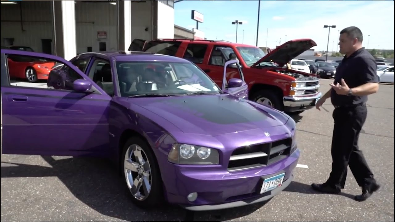 used 2007 dodge charger r/t daytona - plum crazy - rogers, blaine