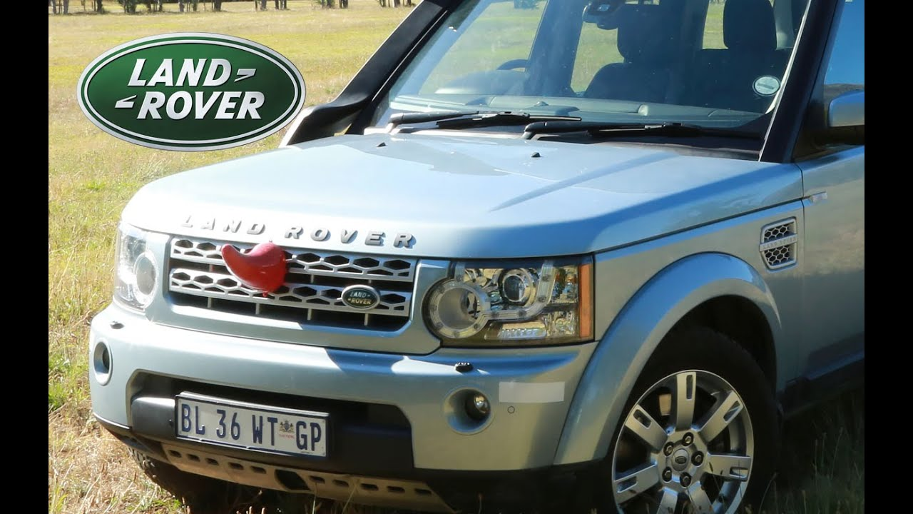 Land Rover Discovery-4 vs Range Rover Sport - YouTube