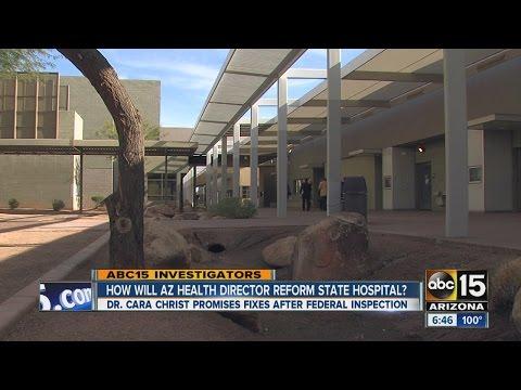 How will Arizona Health Director reform state hospital?
