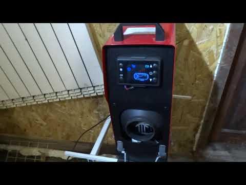Автономный  отопитель в работе 21 час расход топлива .