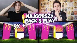 OMG! 9X+ EPOKA FUTBOLU w NAJGORSZY PACK & PLAY ft. JUNAJTED! FIFA 18 ULTIMATE TEAM!