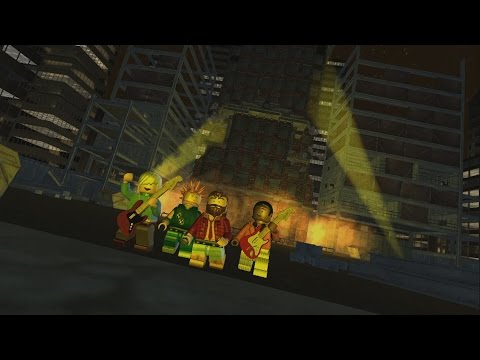 LEGO Rock Band - The Hives - Tick Tick Boom (LEGO Avatars version)