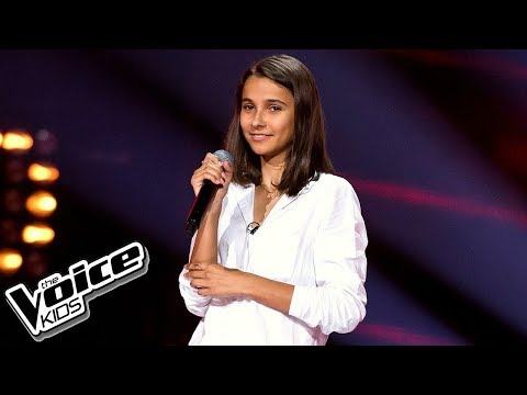 "Carla Fernandes - ""Thinking Out Loud"" - Przesłuchania w ciemno - The Voice Kids Poland 2"