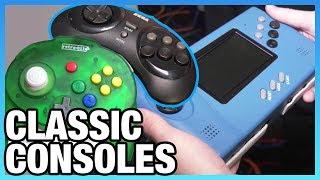 Sega Genesis Handheld Remake & N64 Tribute Controllers | Retrobit