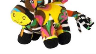 Bee Posh Zelda Zebra