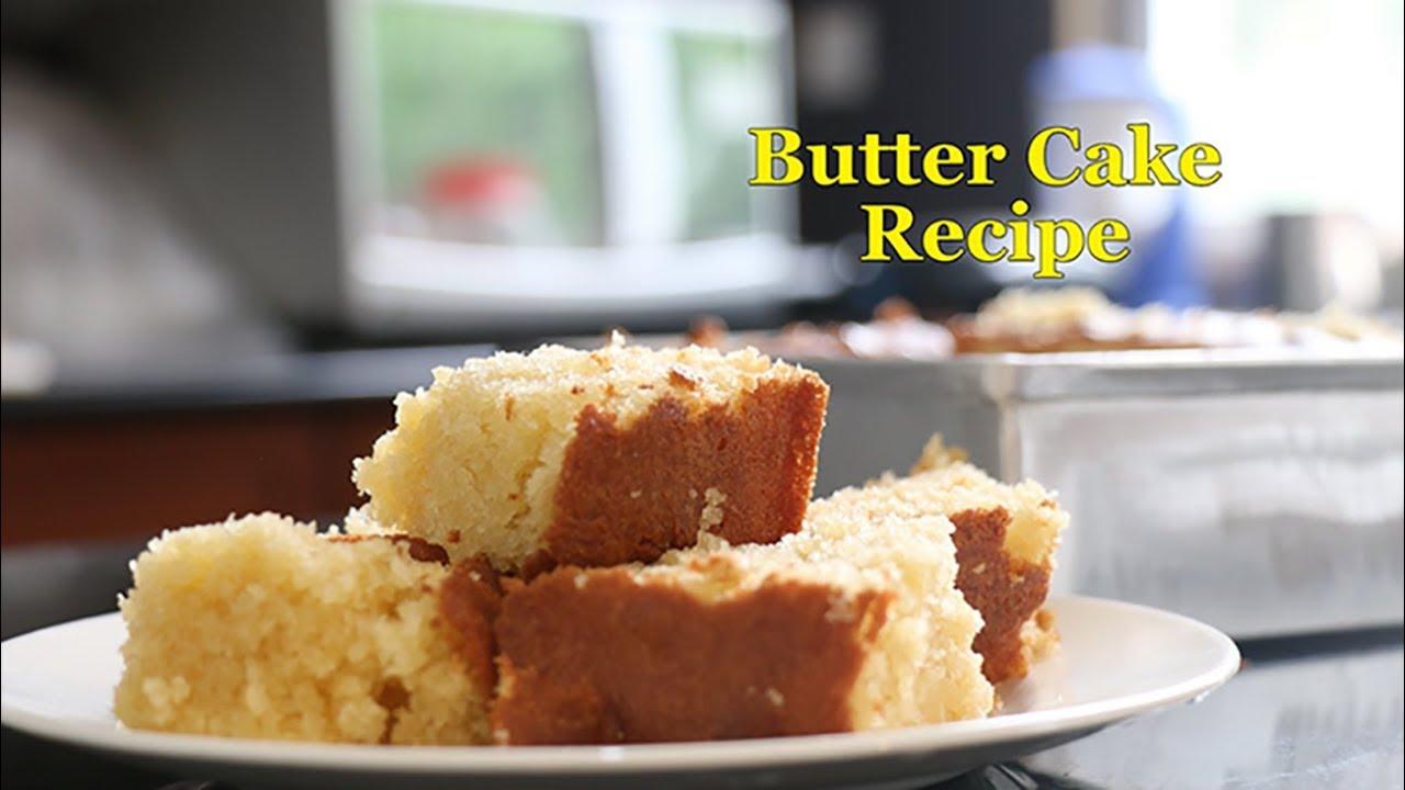 Butter Cake Recipe Kitchen Dailylife Lk Sri Lanka