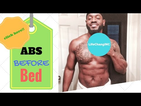 Abs Before Bed Workout
