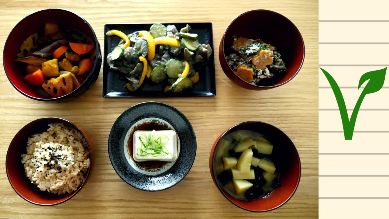 Vegan Washoku || Japanese Food