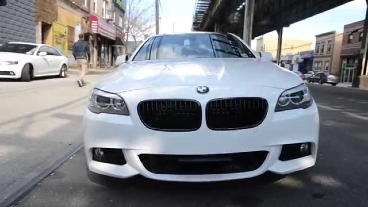 Bmw 550i Retractable License Plate Oneighty Youtube