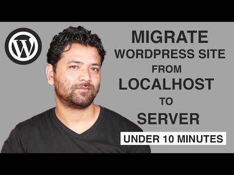 Migrate Wordpress Website In 5 Easy Steps Under 10 minutes