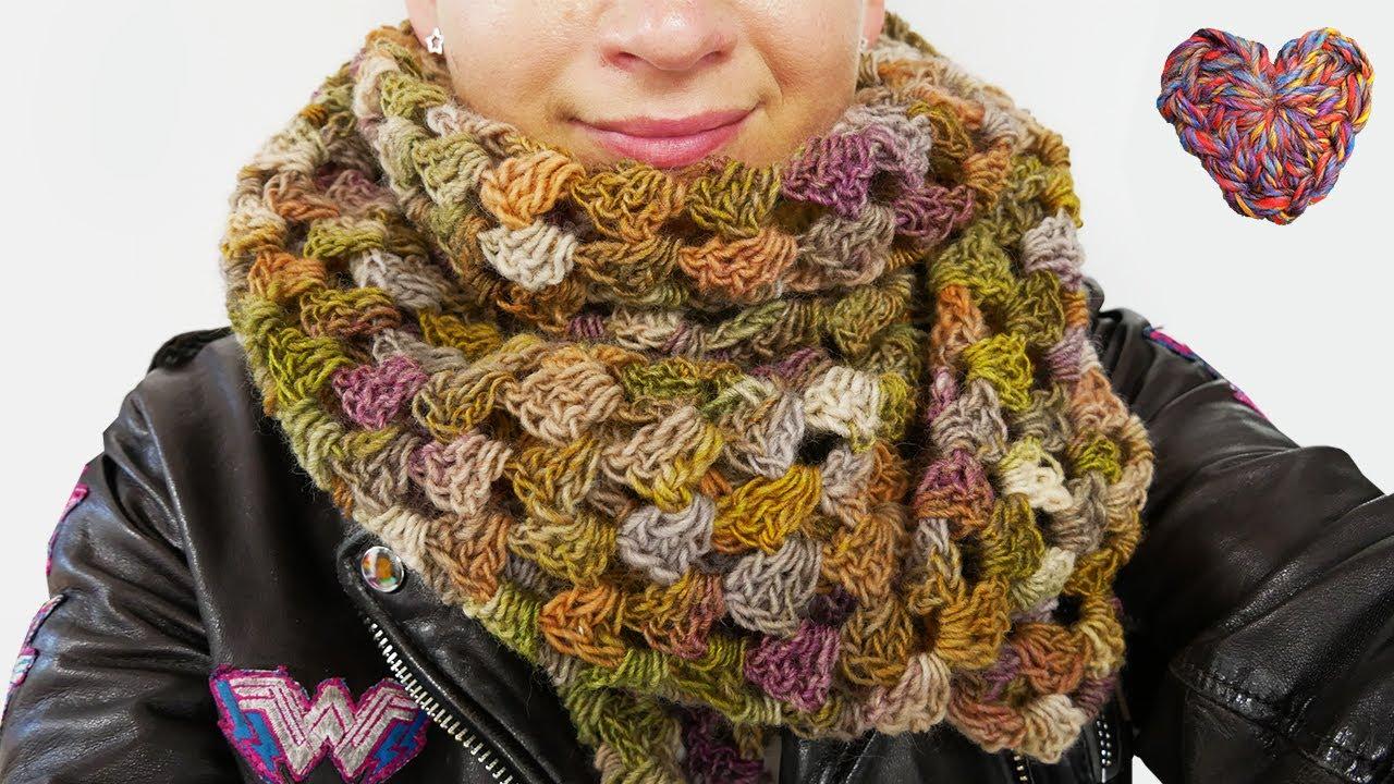 Traumhaftes Herbst Tuch HÄKELN   Dreiecks Tuch im Granny Style