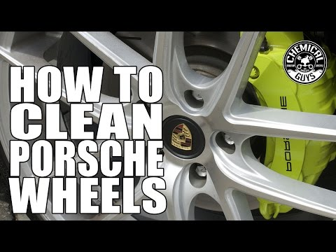How To Clean Porsche Panamera Wheels - Chemical Guys