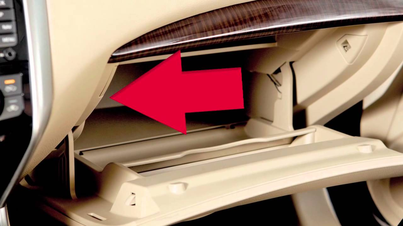 2015 Nissan Altima Trunk Release Power Cancel Switch