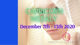 Capricorn Weekly Love Check-in Tarot -  Bye past! healing and commitment developing- December 7-13