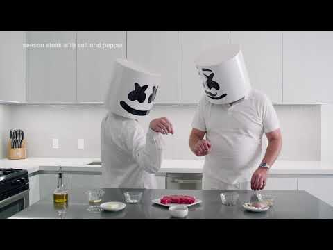 Cooking with Marshmello: How to Make a Steak (Father's Day Edition)