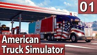 American Truck Simulator #1 PREVIEW PlayTest deutsch 60FPS