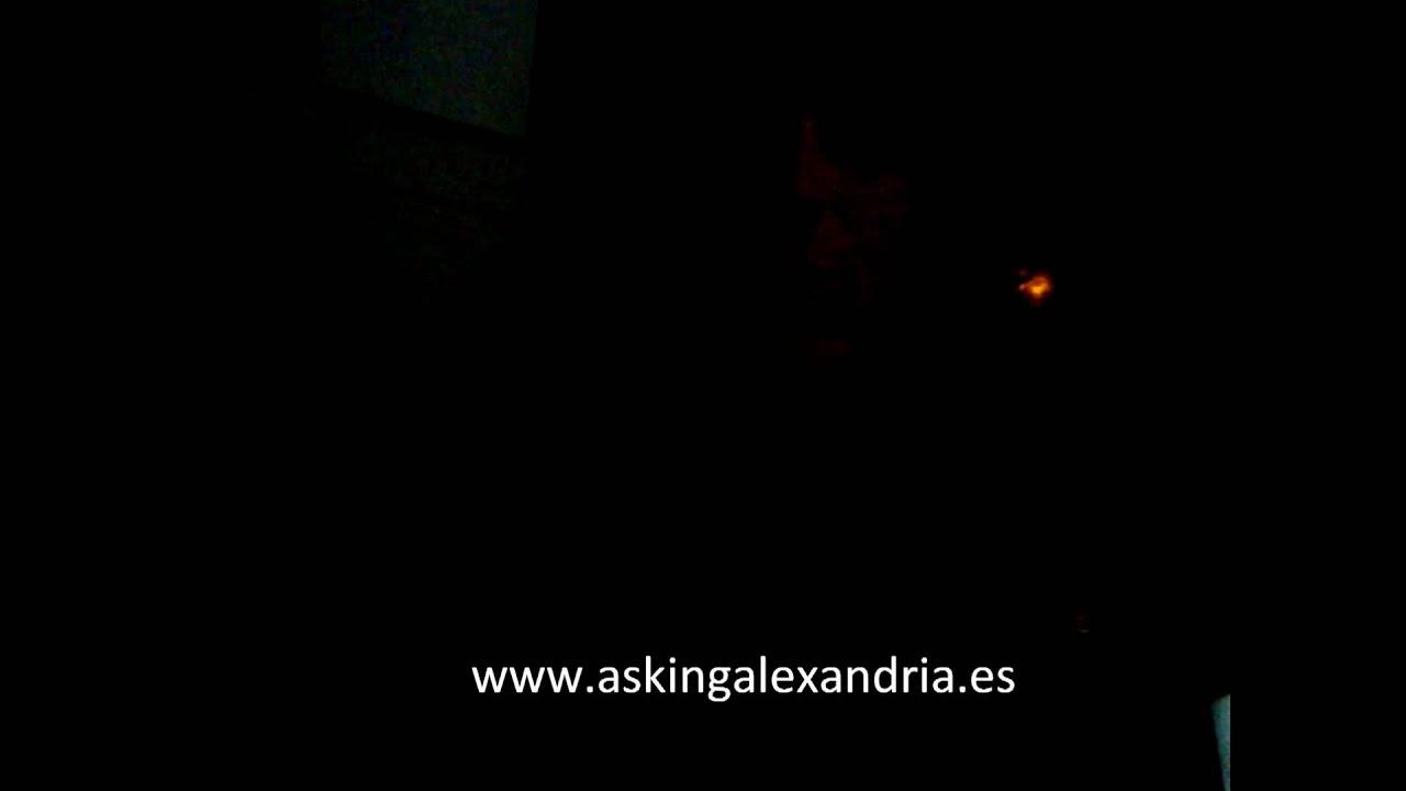 Ben Bruce Manda Saludos A Asking Alexandria Spain