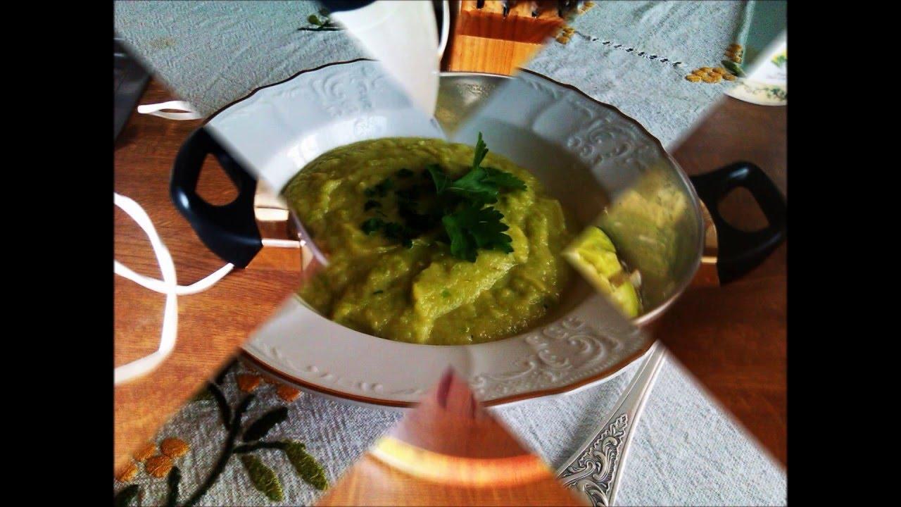 Суп-пюре из кабачков от Нади.