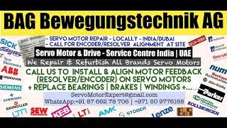 BAG Bewegungstechnik Servo Motor Repair Encoder Kuwait Drive Encoder Stock Repair UAE Dubai Arab