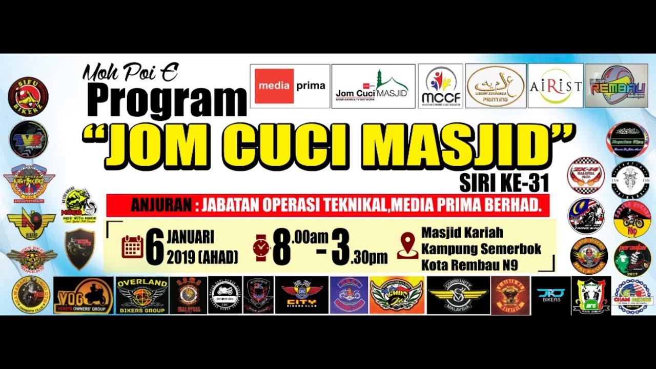 Mt09 Tracer Malaysia Ride Program Jom Cuci Masjid Youtube