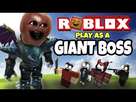 Roblox: Play As A Giant Boss #2! [Midget Apple Plays]