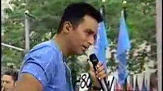 """Just Another Day"" Jon Secada on Today show 2000"