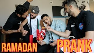 I BROKE MY FAST PRANK!! * Ramadan Prank Wars*