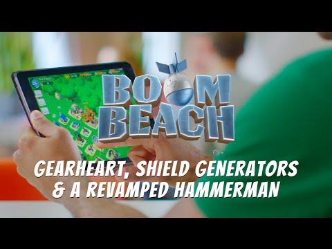Boom Beach: Colonel Gearheart, Shield Generators & Lt. Hammerman Tutorial