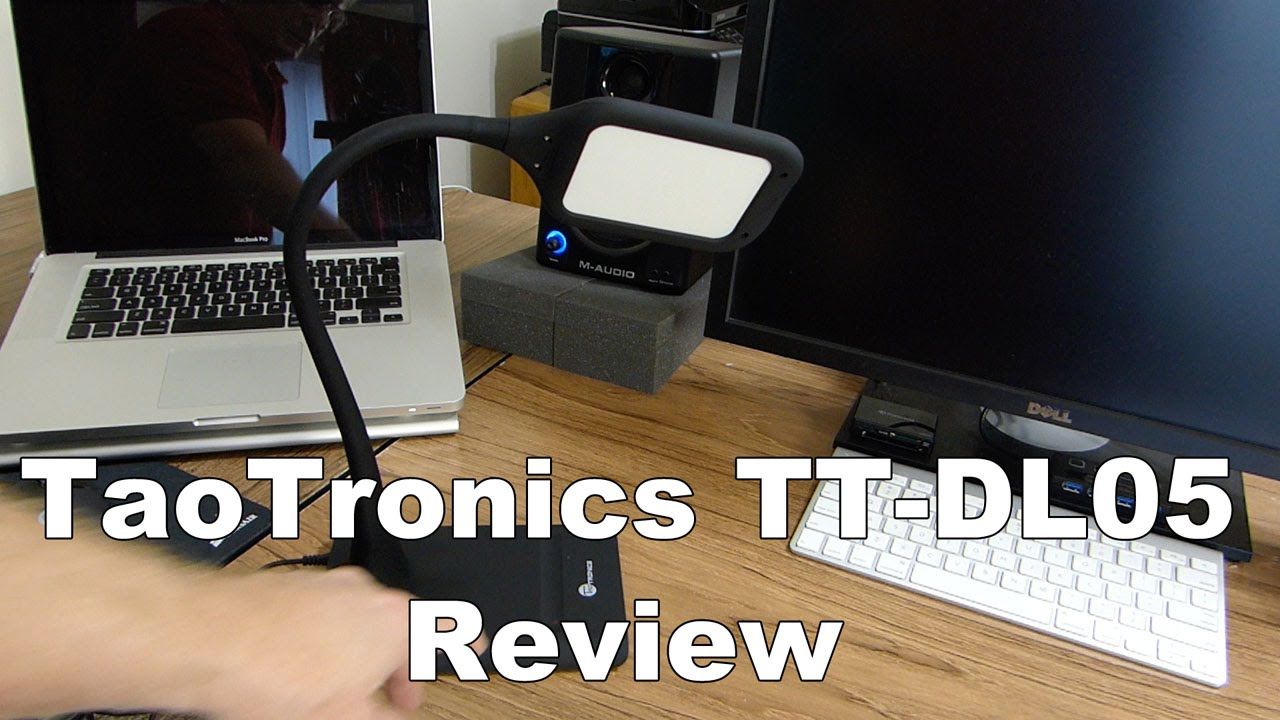 Taotronics Tt Dl05 Led Desk Lamp Review Youtube
