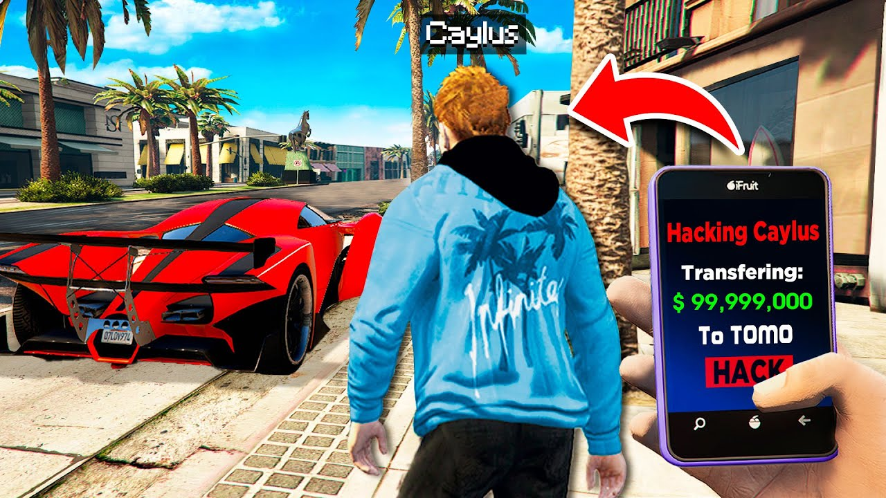 Download I HACKED My Big Brother In GTA 5 RP..