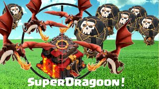 Clash of Clans   SuperDragoon   NEW Attack Strategy Imported From Finland!