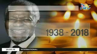 The world mourns the death of former UN secretary general, Kofi Annan