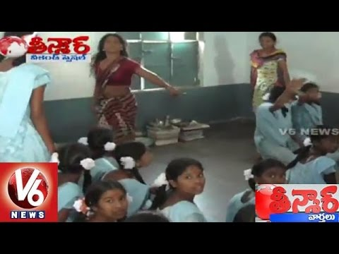 Women Weird action at Kasturba Residential School in Eturunagaram | Teenmaar News