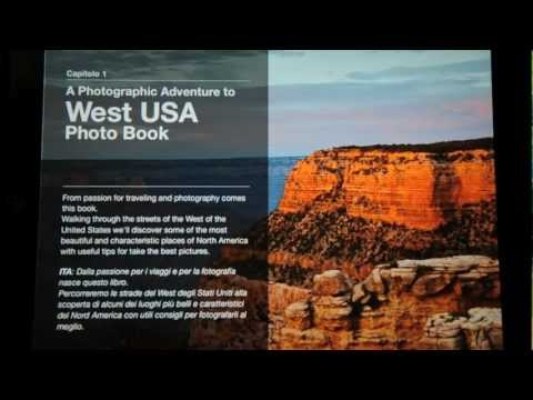 A Photographic Adventure To West USA Photo Book - Interactive Multi Touch Apple IPad IBook