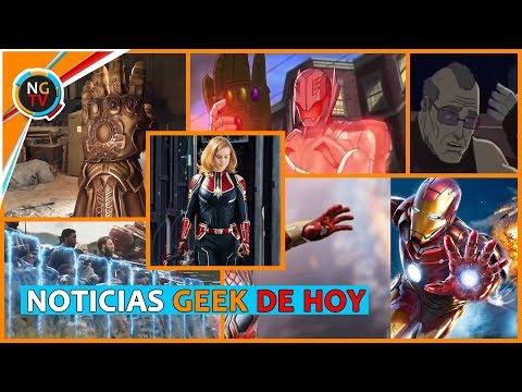 Captain Marvel Poderosa - Thanos Y Ultron Guantelete Teorías - Iron Spider Tiene Repulsores y Más