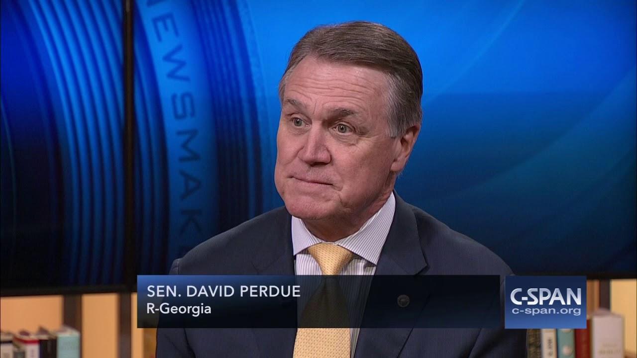 Sen. David Perdue on Judge Roy Moore Allegations (C-SPAN)
