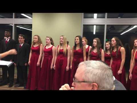 """Dewitt Chamber Choir, 12-1-16 """"On December Five & Twenty"""""""