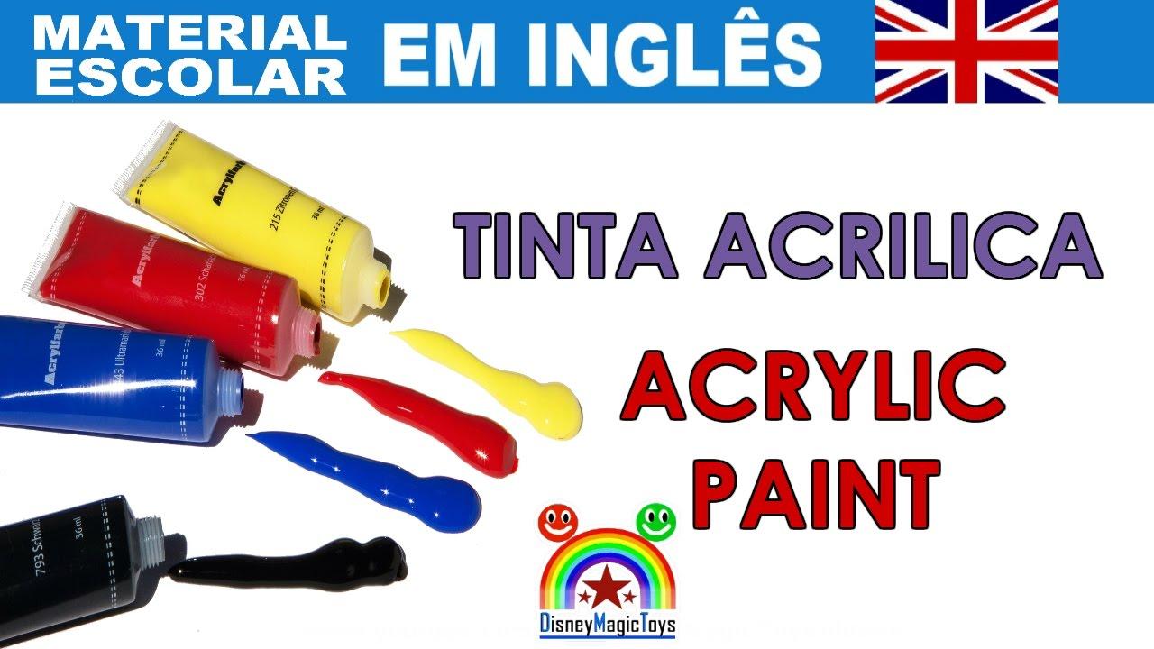 Populares MATERIAL ESCOLAR EM INGLÊS - Tradução Português Ingles - Aprende  RQ03