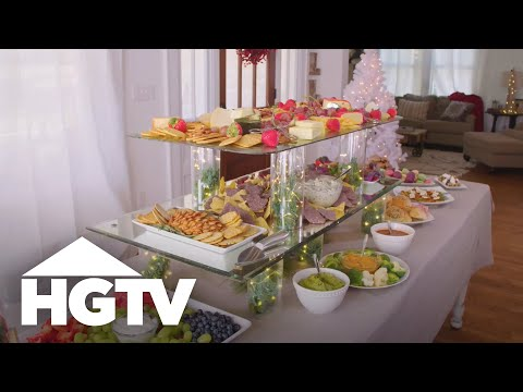 Create A Multi-Layered Buffet For Entertaining - HGTV