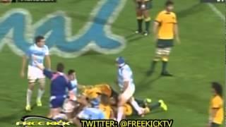 Rugby Championship   Los Pumas 21   Australia 17