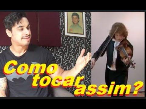 Desvendando os Gênios - Douglas Mendes violinist