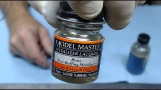 how to brush metallizer paint