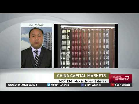 China's A-Shares to be in emerging markets index
