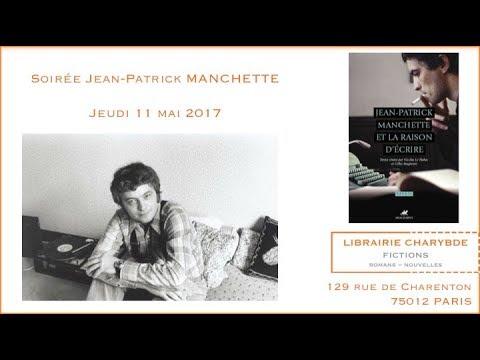 """""""Manchette et la raison d'écrire""""  (Librairie Charybde, 11 mai 2017)"""