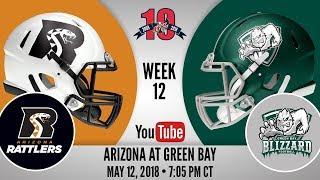 Week 12 | Arizona Rattlers at Green Bay Blizzard