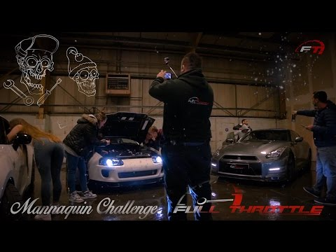 Christmas Mannequin Challenge 2016 With 'Last Christmas' Theme | Full Throttle