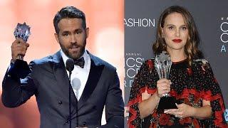 Ryan Reynolds' Moving Tribute & AWKWARD Stage Crash: 2016 Critics' Choice Awards Winners Recap