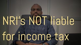 NRI's will not be liable for tax on their overseas income after budget 2020